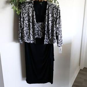 NEW 2 piece dress ensemble  16W